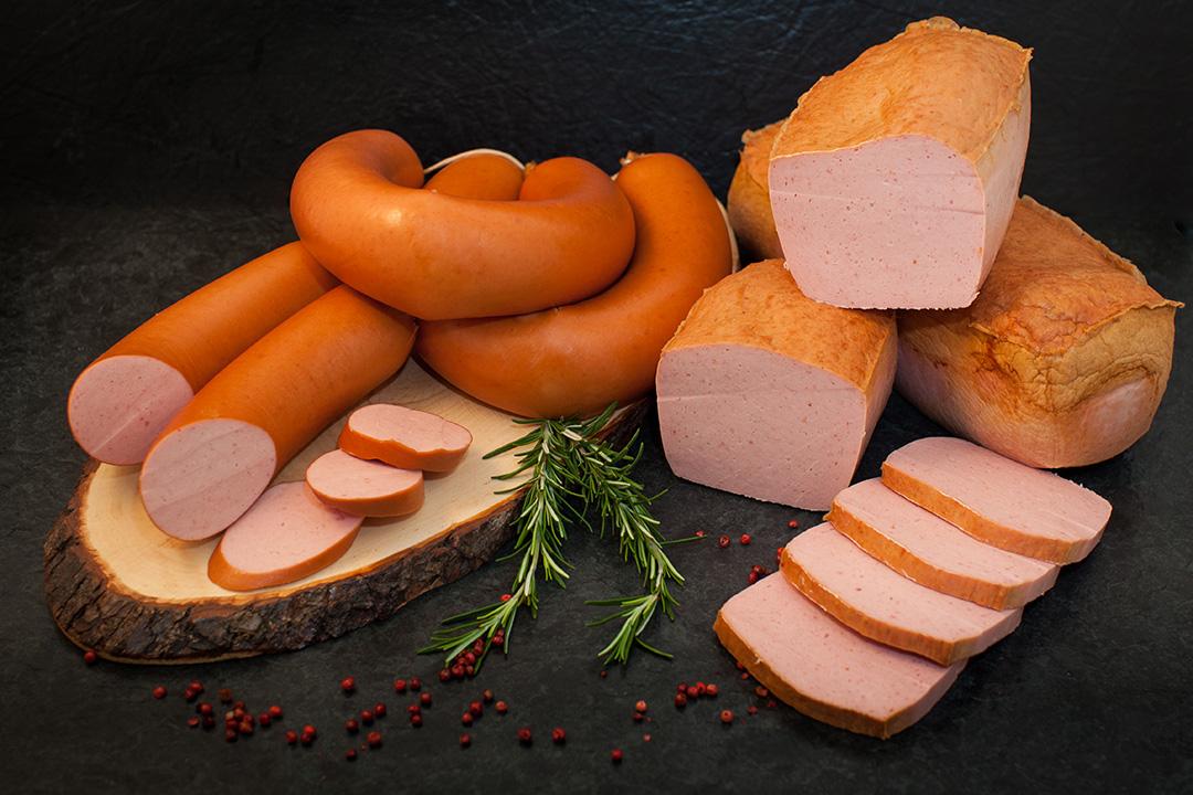 Brühwurst - Fleischwurst und Fleischkäse