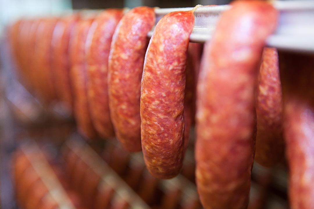 Rohwurst - Räuchermettenden 2